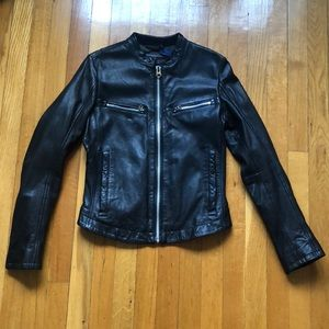 G-Star Women's Motorcycle Leather Jacket